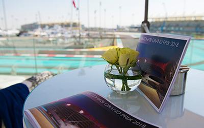 berkeley Red Abu Dhabi F1 GP corporate Hospitality